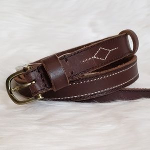 Abercrombie & Fitch Leather Belt  NWT